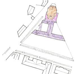 Mappa del Santuario e degli edifici annessi di Sommariva del Bosco